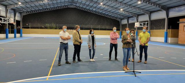 Finaliza el proyecto de la pista cubierta del Colegio Rodenas - 2, Foto 2