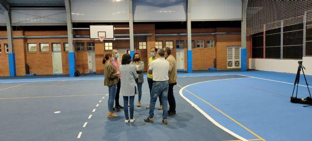 Finaliza el proyecto de la pista cubierta del Colegio Rodenas - 3, Foto 3