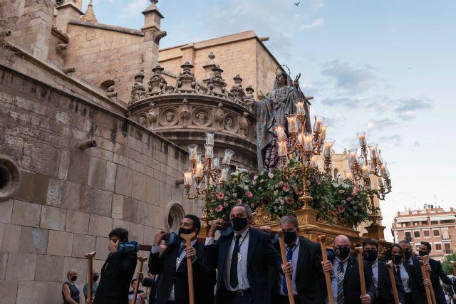 Solemne procesión de Nuestra Señora de los Dolores, titular de la Cofradía de Nuestra Señora de los Dolores de Murcia (Dolorosa de San Lorenzo) - 1, Foto 1