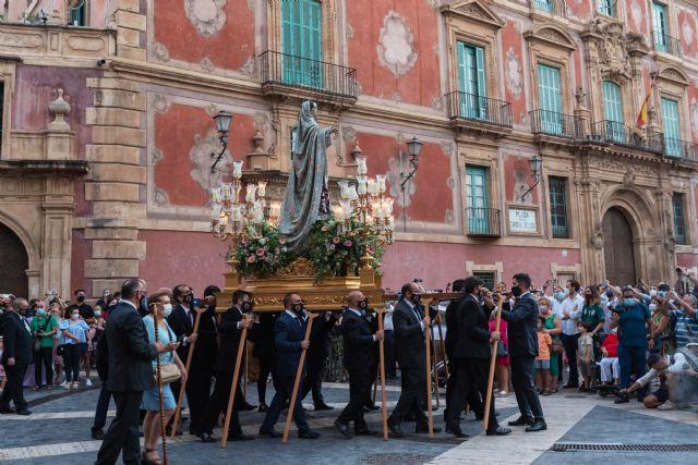Solemne procesión de Nuestra Señora de los Dolores, titular de la Cofradía de Nuestra Señora de los Dolores de Murcia (Dolorosa de San Lorenzo) - 2, Foto 2