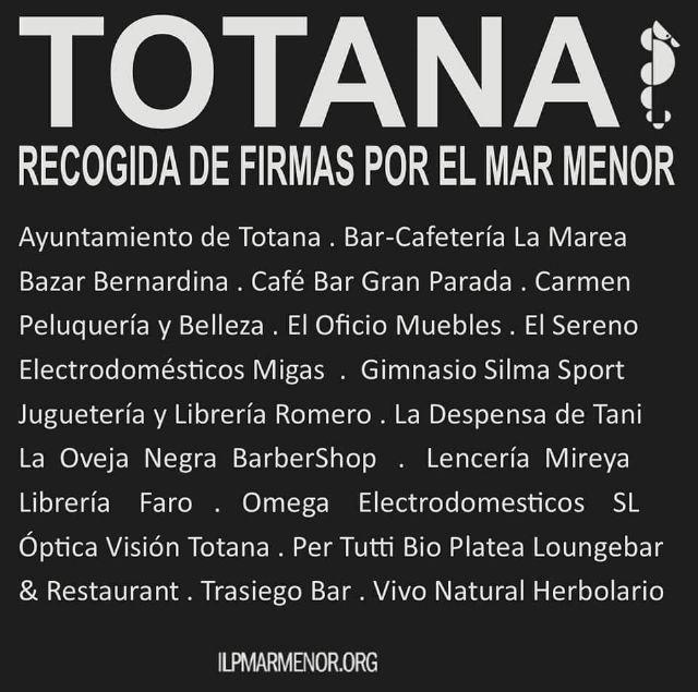 El PSOE de Totana anima a los totaneros a que firmen la ILP para salvar el Mar Menor, Foto 2