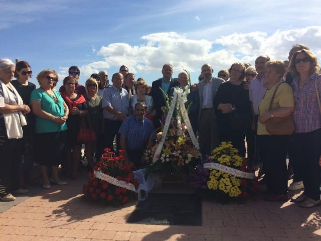 Video. El Ayuntamiento de Totana dedica una lápida conmemorativa a once vecinos fusilados de Totana y Aledo