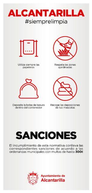El Ayuntamiento de Alcantarilla pone en marcha la campaña Alcantarilla #siemprelimpia - 2, Foto 2