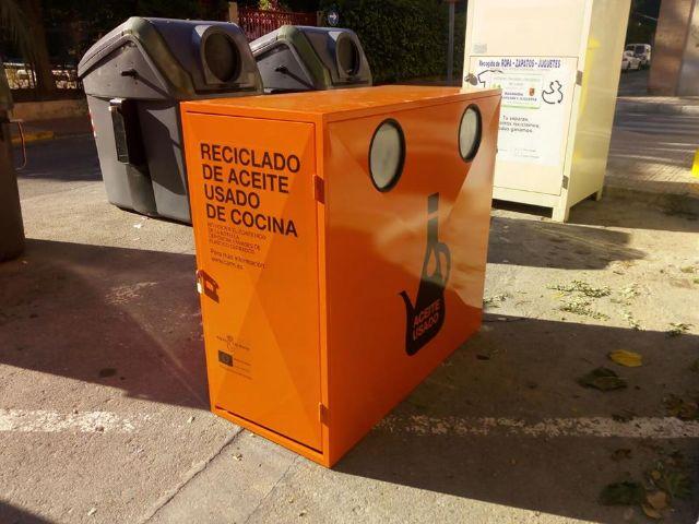 El Ayuntamiento de Alcantarilla instala nuevos contenedores para la recogida y reciclado de aceite usado de cocina - 3, Foto 3