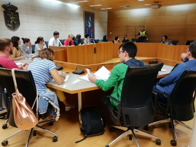 The newly created Municipal Commission for Children and Youth meets for the first time