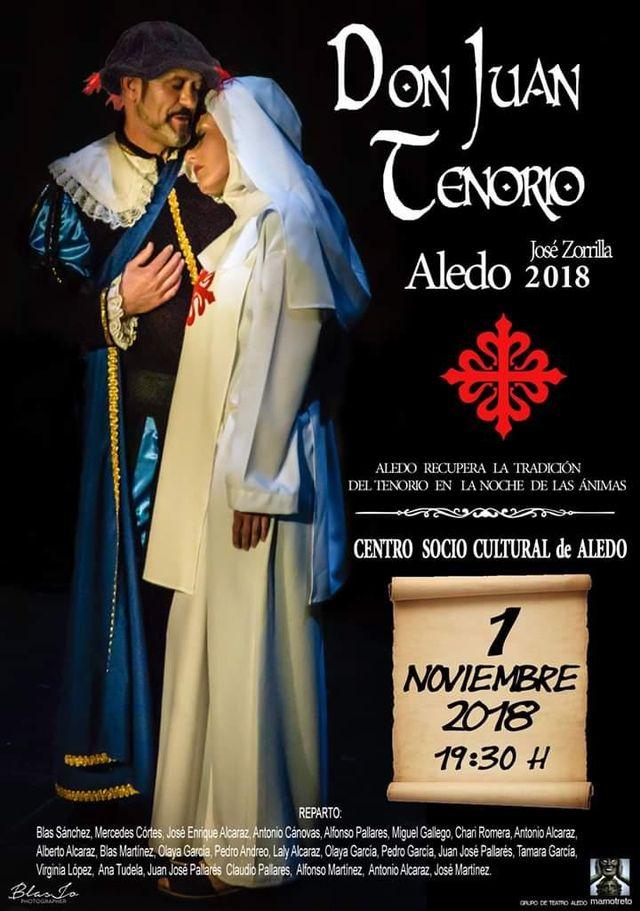 Aledo recupera la tradición del Tenorio en la noche de las Ánimas - 1, Foto 1