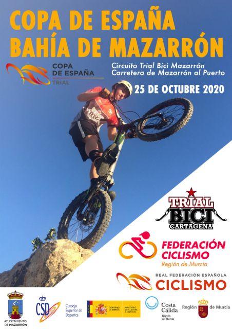 Mazarrón coronará a los campeones de la Copa de España de trial bici - 2, Foto 2
