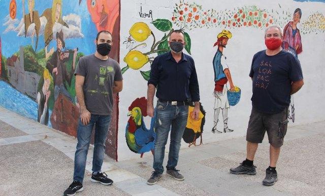 Finalizados dos nuevos murales urbanos enmarcados en el Año Párraga - 1, Foto 1