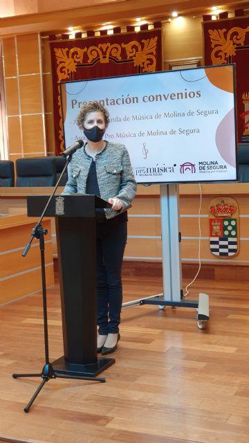 El Ayuntamiento de Molina de Segura y la Asociación Pro Música presentan el convenio firmado para la promoción de actividades musicales durante 2020 - 1, Foto 1