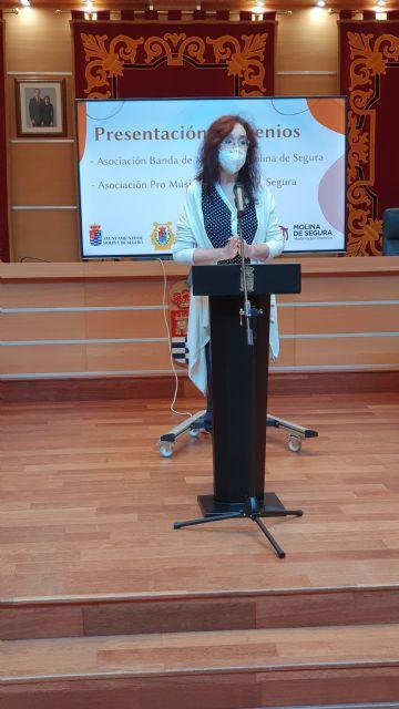 El Ayuntamiento de Molina de Segura y la Asociación Pro Música presentan el convenio firmado para la promoción de actividades musicales durante 2020 - 2, Foto 2