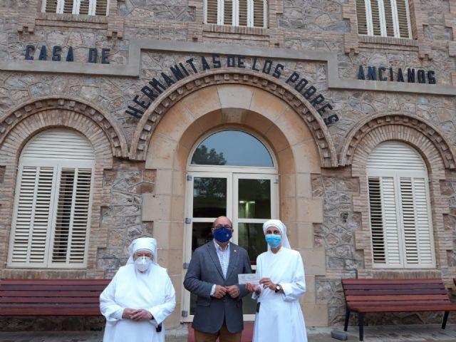El Resucitado entrega los donativos recaudados en su 'Cesta Solidaria' - 2, Foto 2