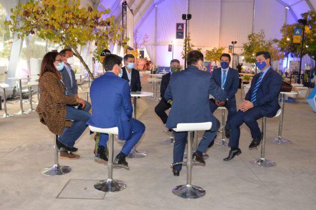 Los alcaldes de San Javier y Ponte de Sor, Portugal, preparan la Feria aeronáutica Iberian Air Summit - 4, Foto 4