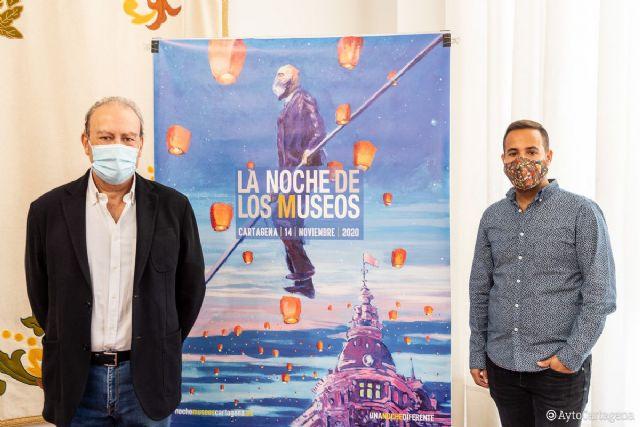 El cartel de la Noche de los Museos combina la magia del evento con la realidad actual - 1, Foto 1