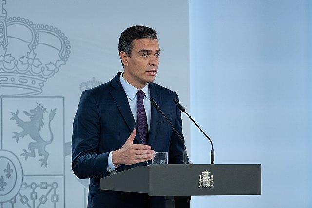 Pedro S�nchez: Queremos y debemos evitar recurrir a un nuevo confinamiento domiciliario, Foto 1
