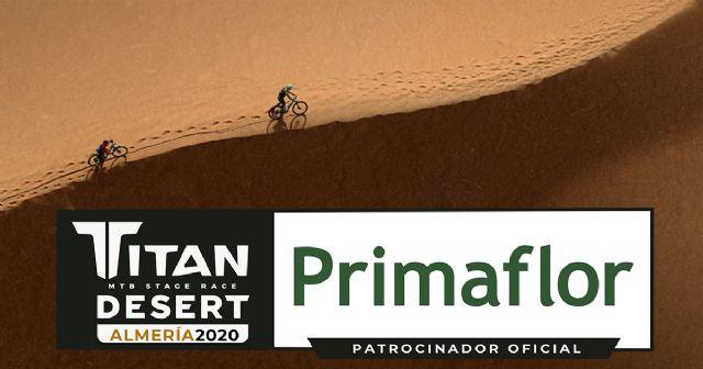 Primaflor, patrocinador oficial de la Titan Desert 2020 - 1, Foto 1