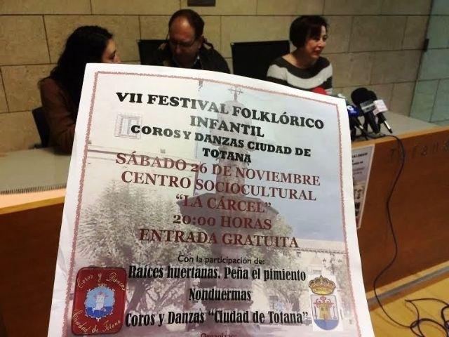 Video. VII Festival Folklórico Infantil Ciudad de Totana