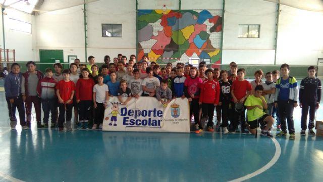 La Fase Local de Bádminton de Deporte Escolar cuenta con la participación de 64 escolares de los diferentes centros de enseñanza