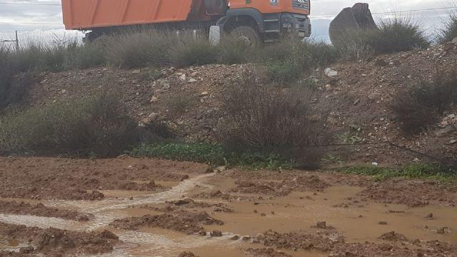 El delegado del Gobierno anuncia obras de emergencia en el canal de drenaje D7 en Los Alcázares en su conexión con la rambla del Albujón - 2, Foto 2