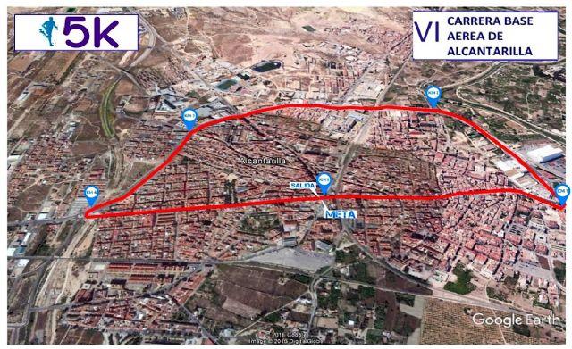 Presentado el cartel de la VI Carrera Popular Base Aérea de Alcantarilla - 1, Foto 1