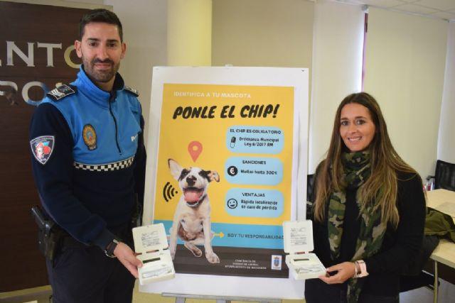 La concejalía de bienestar animal equipa a Policía Local con dos lectores de microchip - 2, Foto 2