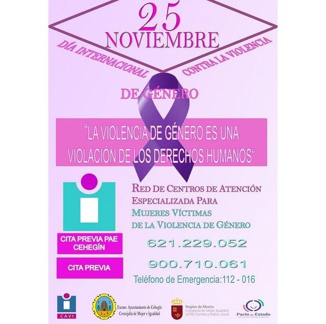 Cehegín cuenta con un Punto de encuentro de Atención Especializada para mujeres víctimas de la violencia de género - 1, Foto 1