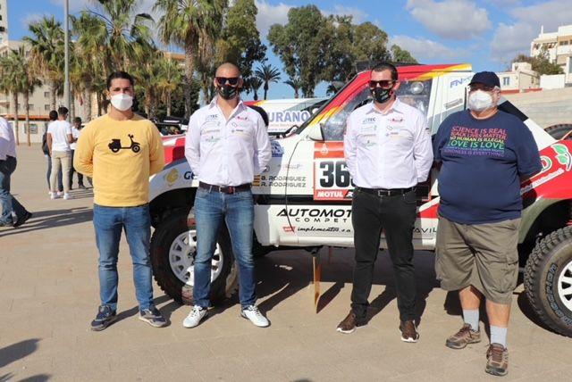 El equipo aguileño Automotor 4×4 participa en el Rally Dakar 2021 - 1, Foto 1