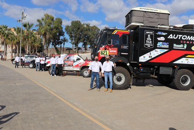 El equipo aguileño Automotor 4×4 participa en el Rally Dakar 2021 - 2, Foto 2