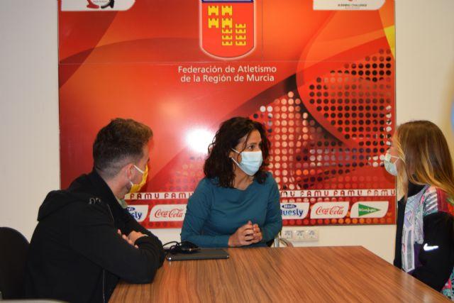 Pruden Guerrero se reúne con la consejera y el director general de Deportes - 2, Foto 2