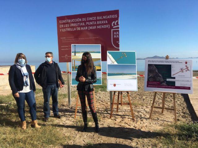 La Comunidad inicia la construcción de cinco balnearios públicos para mejorar la accesibilidad al Mar Menor - 1, Foto 1