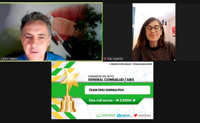 Team ONU Guinea conquista el Reto General COM Salud - AIES - 1, Foto 1