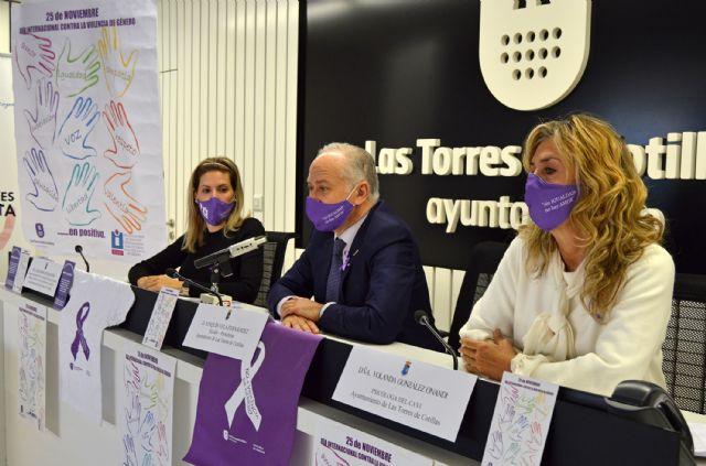 Las Torres de Cotillas conmemora el 25 de noviembre reforzando su compromiso contra la violencia de género - 1, Foto 1