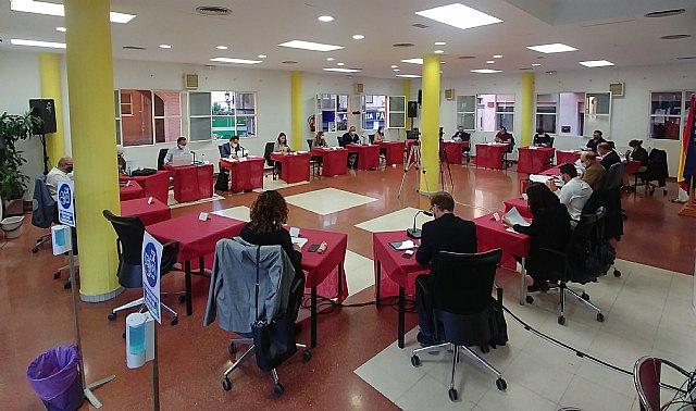 Agenda of the November 2020 ordinary plenary session of the Totana City Council
