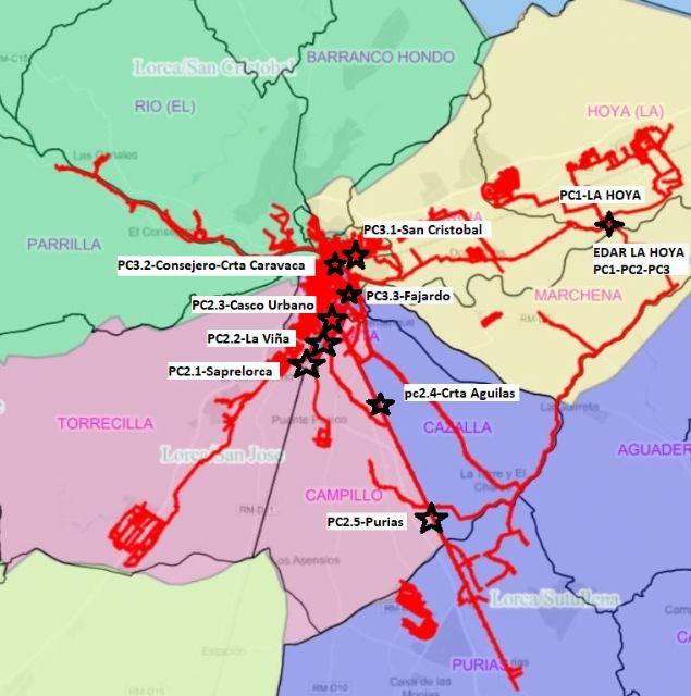 Aguas de Lorca controla en las aguas residuales la presencia y evolución de la COVID19 - 1, Foto 1