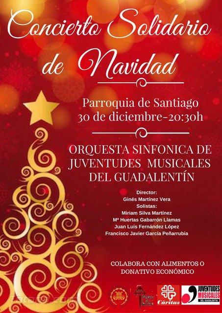 La Orquesta Juventudes Musicales Comarca del Guadalentín realizará un concierto solidario de Navidad en Totana - 1, Foto 1