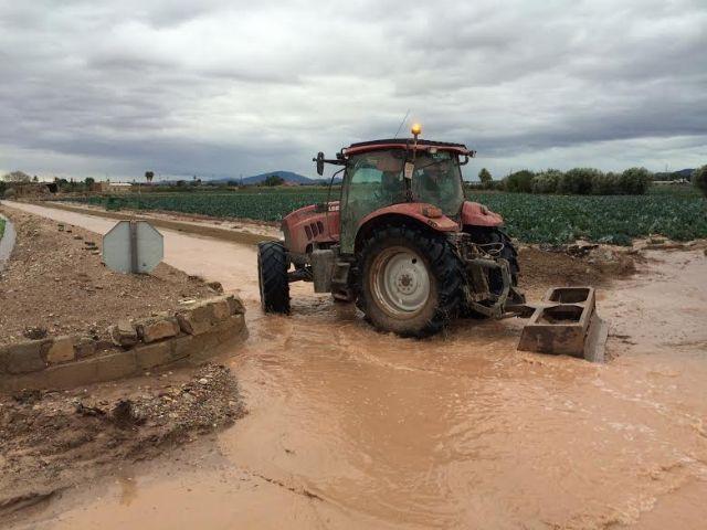 Pedirán las administraciones competentes ayudas para reponer los daños ocasionados a consecuencia del último temporal de lluvias - 2, Foto 2