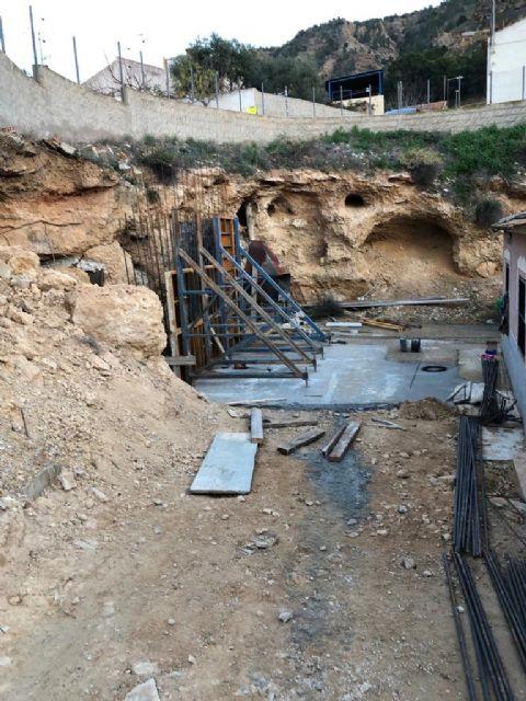 Infraestructuras está realizando obras para evitar un desprendimiento de tierras en Torreagüera - 3, Foto 3