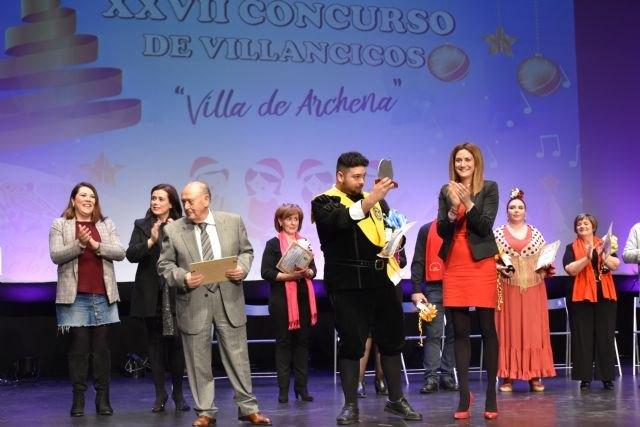 La tuna de la Facultad de Medicina de Murcia se alza con el primer premio del XXVII Concurso Nacional de Villancicos de Archena - 3, Foto 3