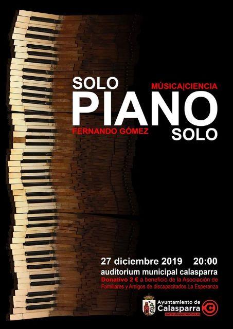 Piano y ciencia en Calasparra - 1, Foto 1