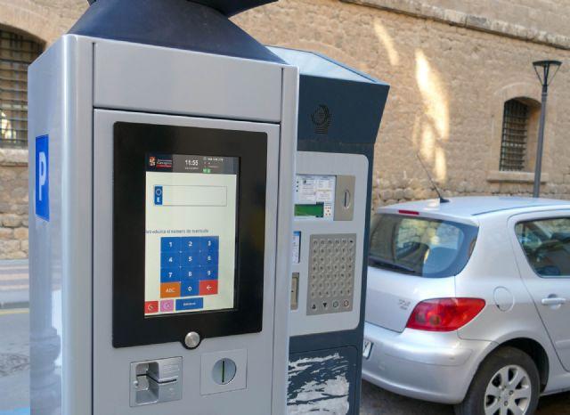 Cartagena estrena nuevos parquímetros con monedero virtual que permiten pagar desde cualquier punto de la ciudad - 1, Foto 1