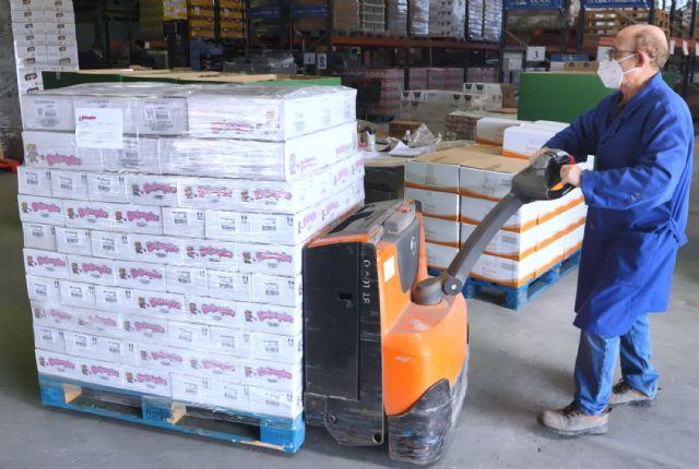 Dulceplus Golosinas entrega unos 650 kilos de producto al Banco de Alimentos de la Región de Murcia - 1, Foto 1