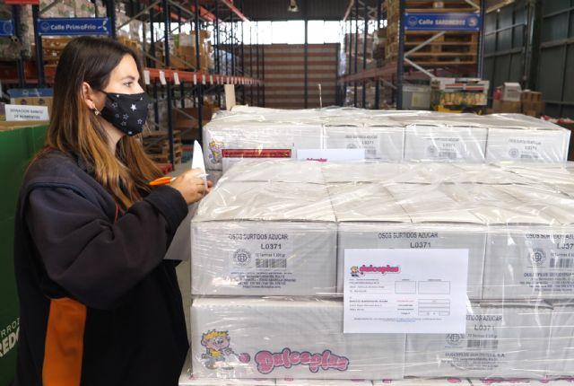 Dulceplus Golosinas entrega unos 650 kilos de producto al Banco de Alimentos de la Región de Murcia - 2, Foto 2