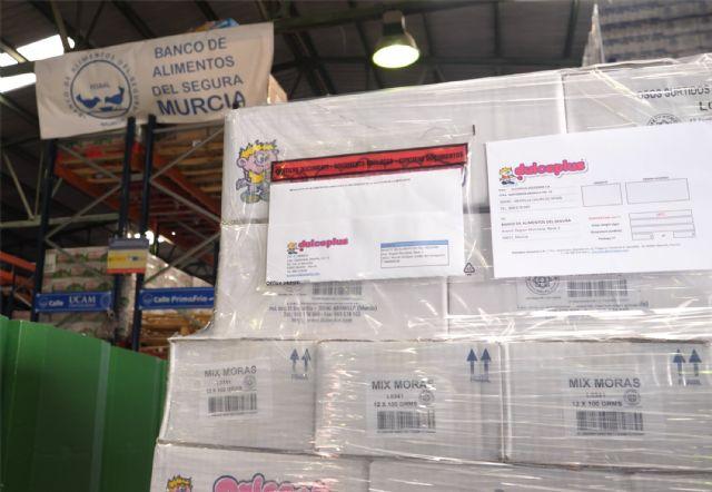 Dulceplus Golosinas entrega unos 650 kilos de producto al Banco de Alimentos de la Región de Murcia - 3, Foto 3