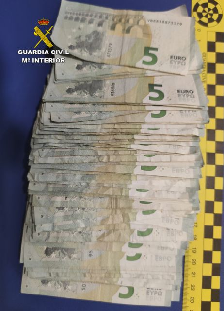 La Guardia Civil detiene en Mula a un estafador especializado en el timo del cambio de billetes en comercios - 2, Foto 2