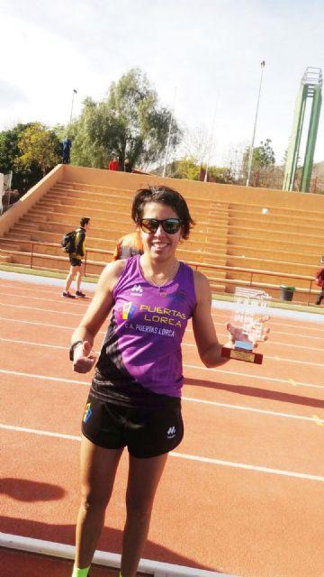 La mazarronera Mayte Vera se proclama campeona regional absoluta en cross y competirá con su equipo en el nacional - 1, Foto 1