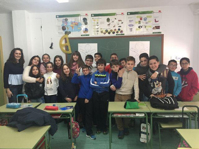 Alumnado del centro educativo Juana Rodríguez recibe el taller contra la violencia de género ¡dale una bofetada! - 1, Foto 1