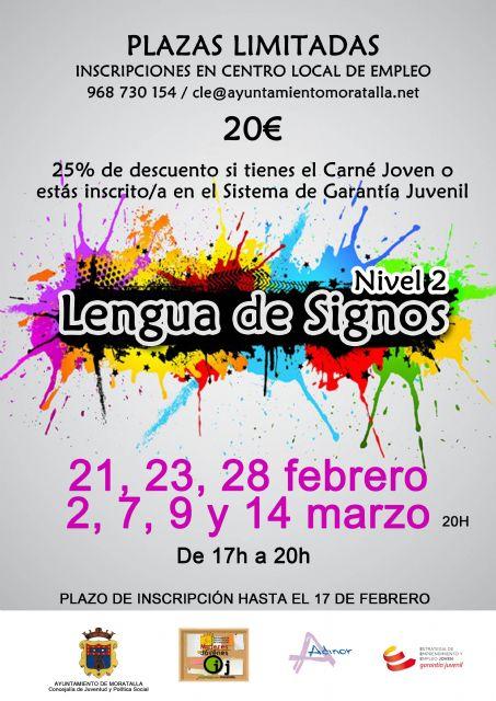 Curso de lengua de signos nivel 2 en Moratalla - 1, Foto 1