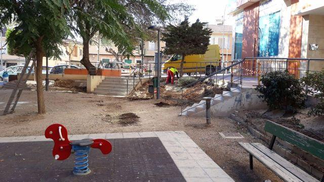 Finalizan las obras de acondicionamiento del Jard�n T�o Juan Rita, Foto 5