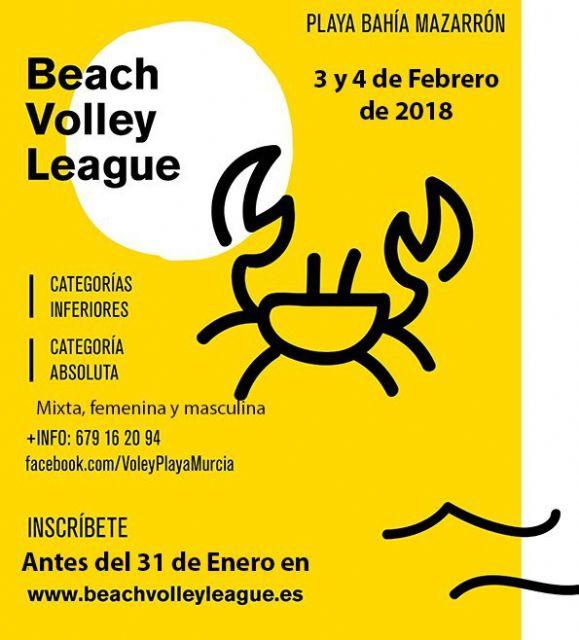 La liga regional de vóley playa vuelve a Mazarrón en febrero - 1, Foto 1