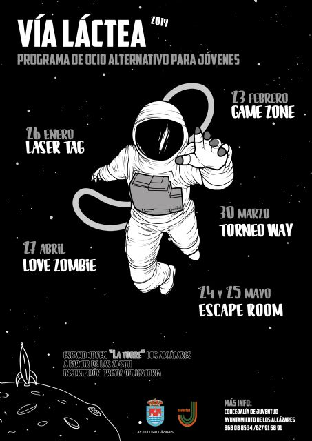 La Vía Láctea comienza el próximo sábado - 1, Foto 1