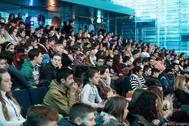 Más de 700 estudiantes de toda la Región asisten al GDMuseos en El Batel - 1, Foto 1